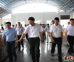 徐守盛视察安化县黑茶企业
