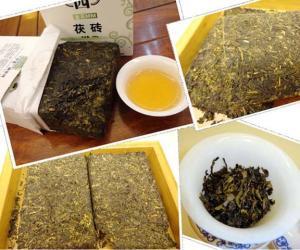 亲身体验:茯砖茶品质随时间积累得到很大提升