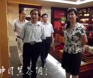 广西壮族自治区科协副主席方芳到梧州茶厂调研
